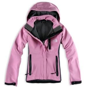 Womens North Face Gore Tex Windbreaker Jackets Pink 95