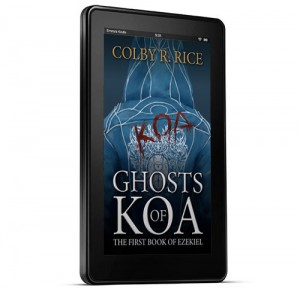 Ghosts of Koa Cover 3D Kindle