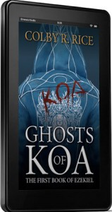 Ghosts of Koa Cover 3D Kindle (skinny)