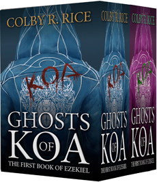 Ghosts of Koa. My First Dystopian-Urban Fantasy Novel Out Now!