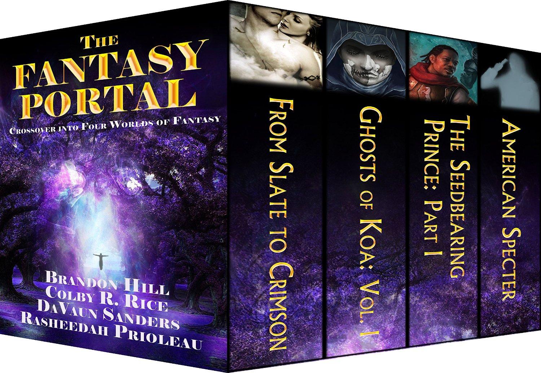 Four Kick-ass Authors, Four Worlds of Wonder. Enter The Fantasy Portal!