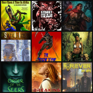 AUTHOR LINE UP for Butler-Banks Black Sci-Fi Book Tour!