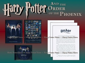 harry potter press kit