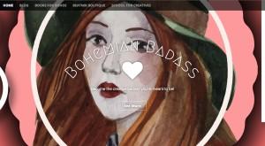 Bohemian Badass School Website Shot